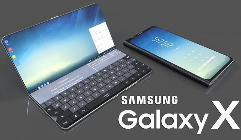 Samsung GALAXY X interfata os