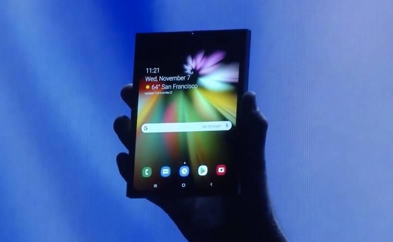 Samsung INFINITY FLEX arata