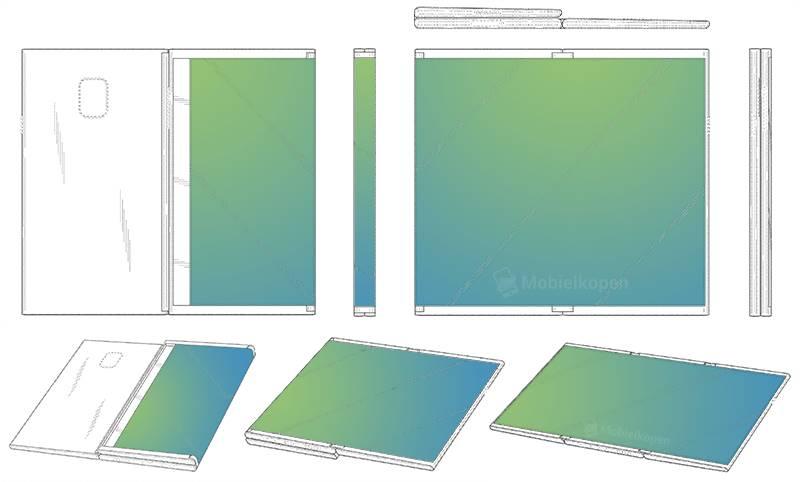 Samsung tableta pliabila 1