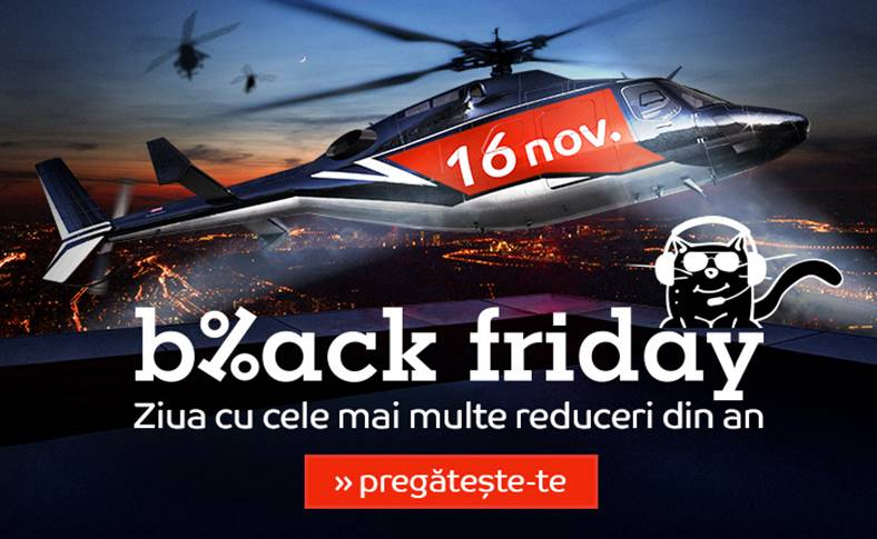 eMAG BLACK FRIDAY masina