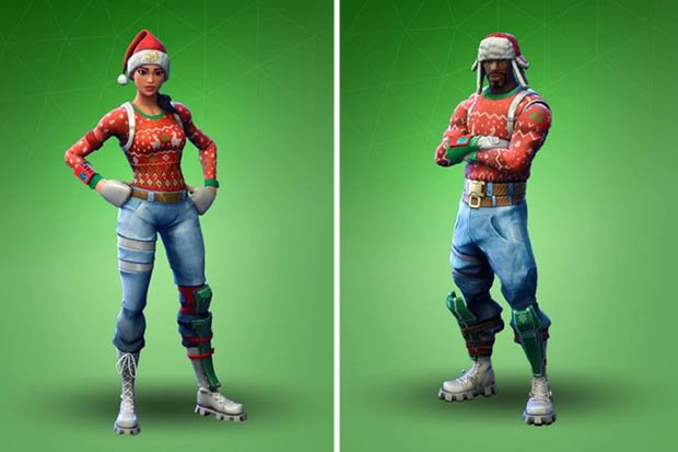 fortnite skin craciun