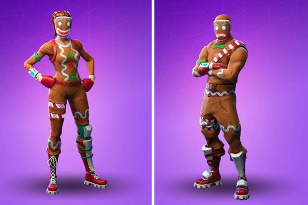 fortnite skin ginger