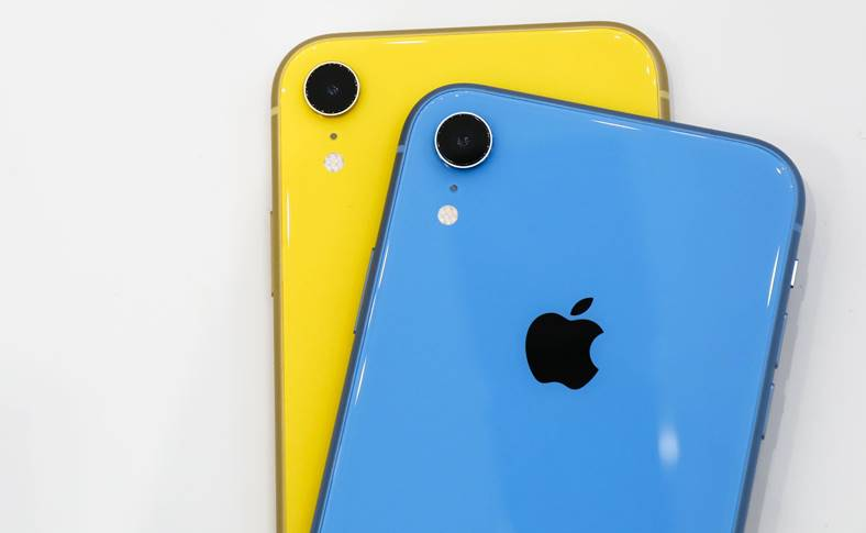 iPhone XR autonomie samsung galaxy note 9 s9