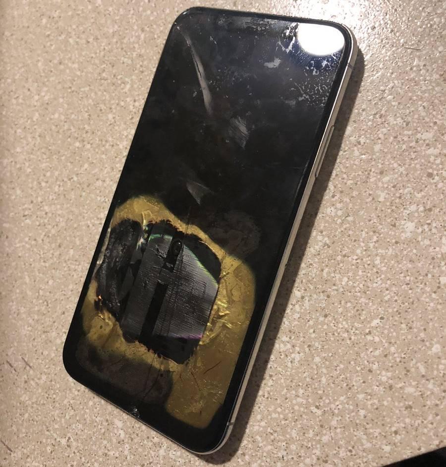 iphone x explodat ios 12.1 1