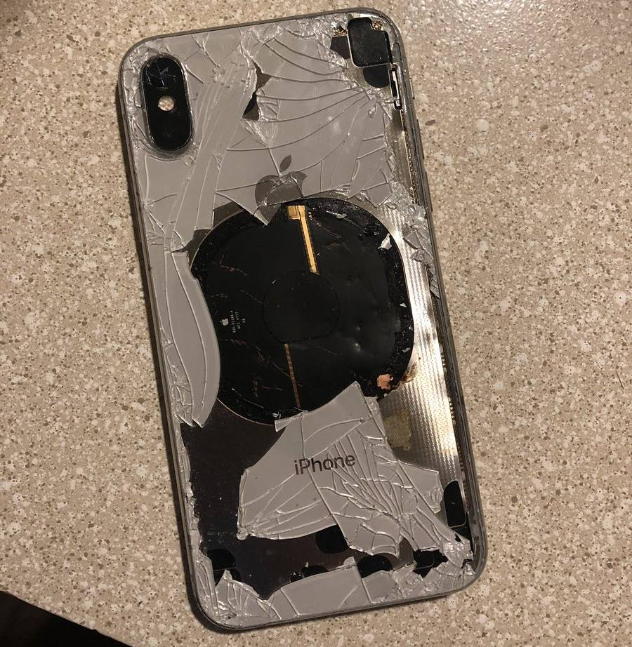 iphone x explodat ios 12.1 2