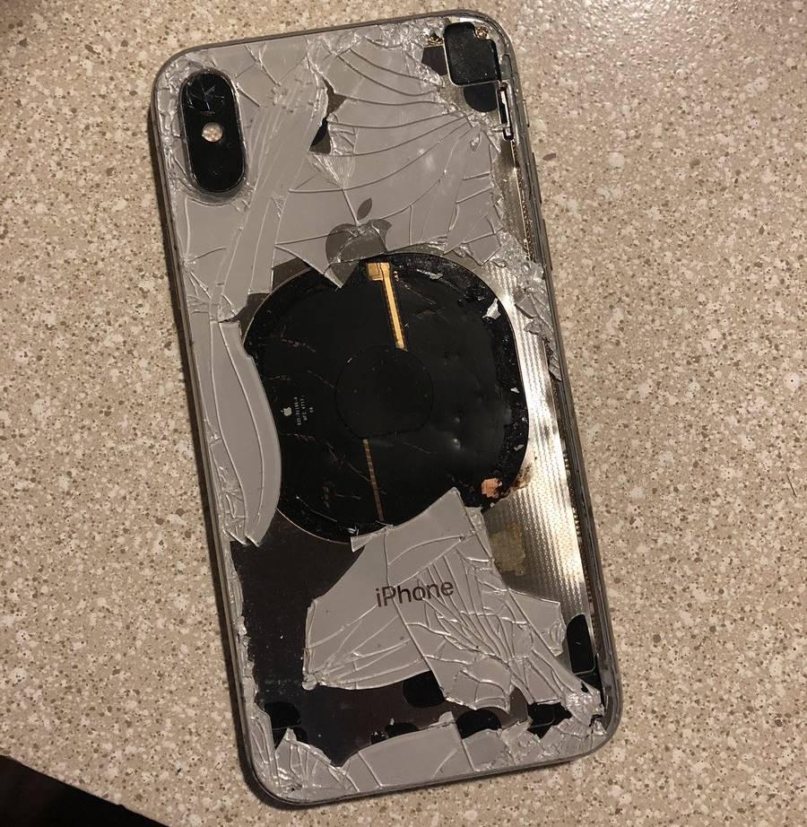 iphone x explodat ios 12.1 2