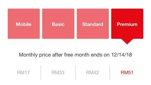 netflik subscription price 1