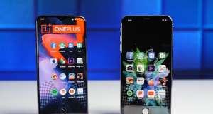 oneplus 6t umilit iphone xs max