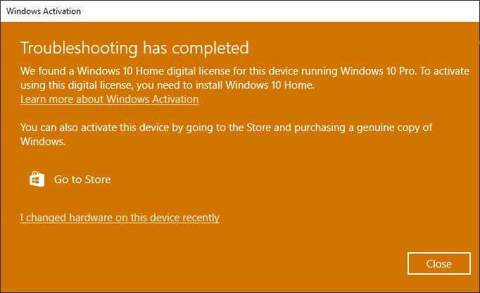 windows 10 activare