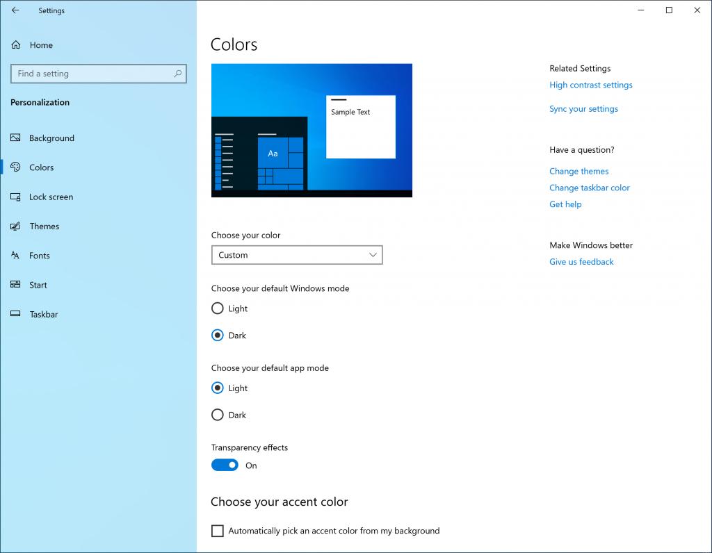 windows 10 tema 2