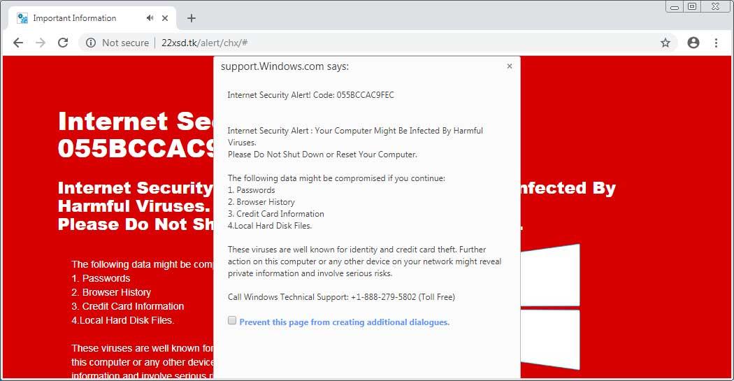 Google Chrome blocat windows 10