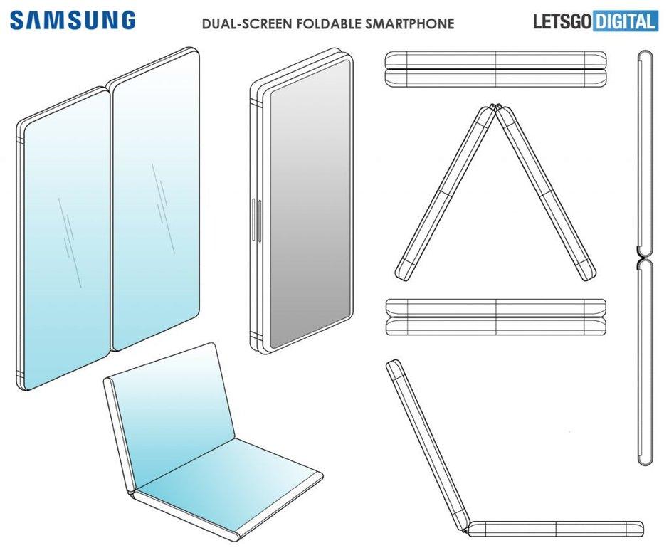 Samsung GALAXY FOLD arata telefon