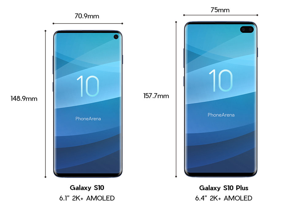 Samsung GALAXY S10 design final