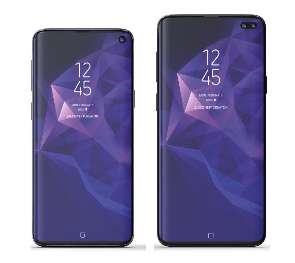 Samsung GALAXY S10 iphone xr