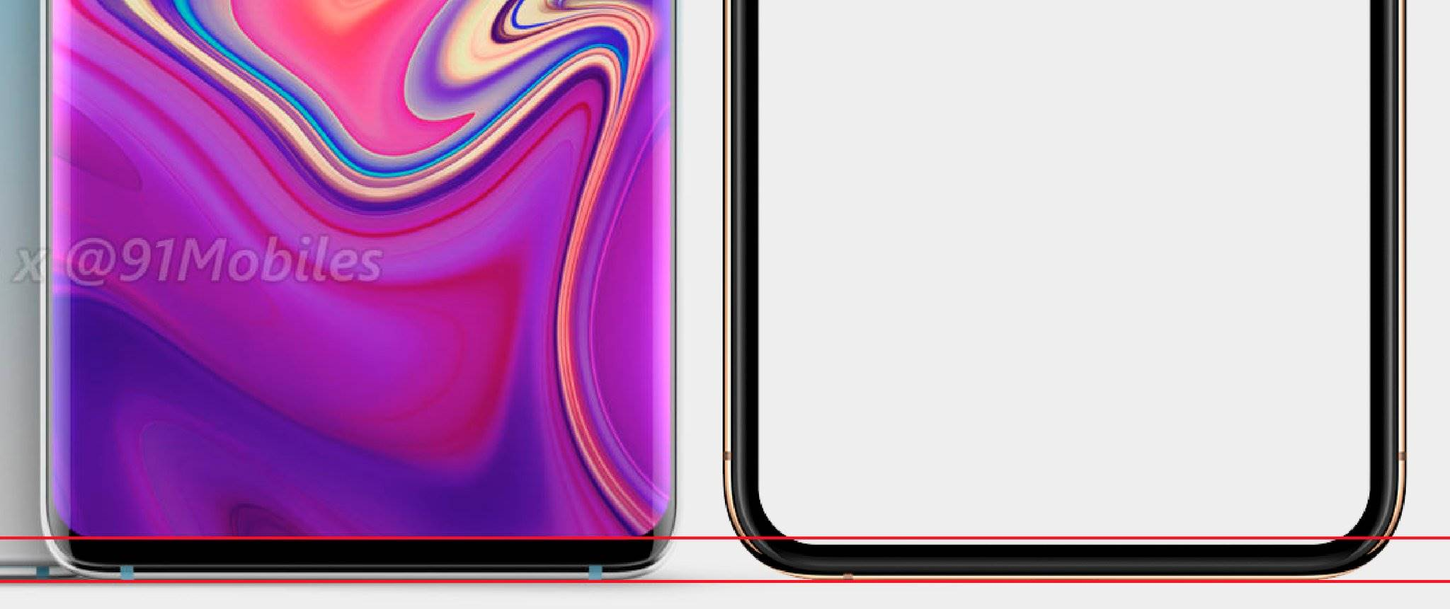 Samsung GALAXY S10 secret design