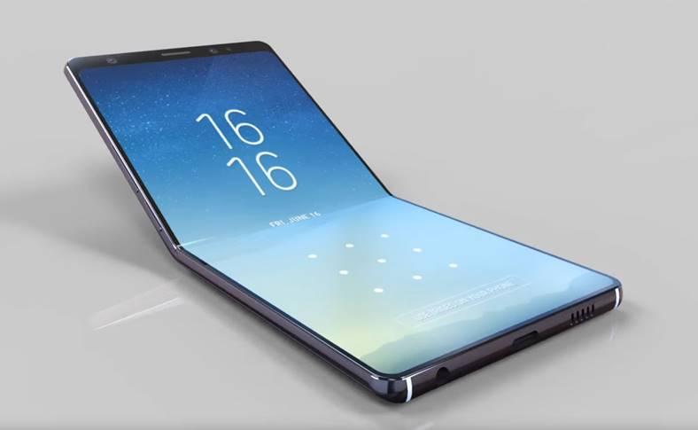 Samsung GALAXY X baterie flexibila