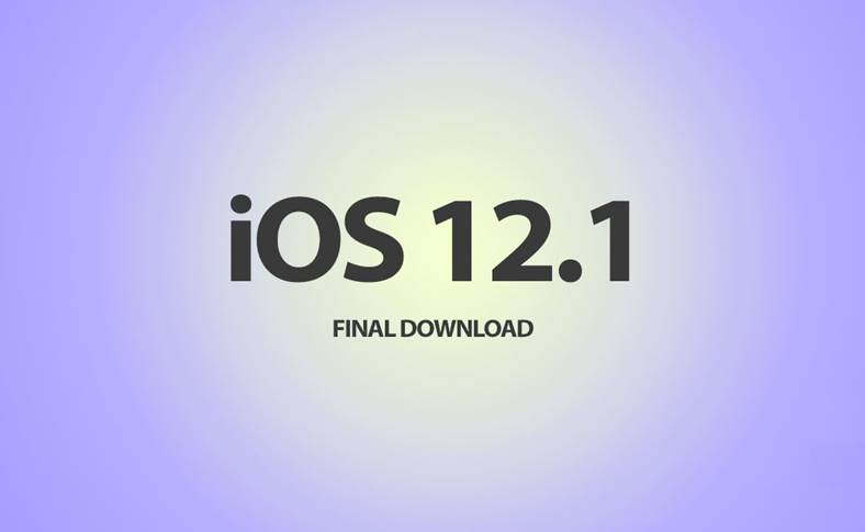 iOS 12.1.1 iphone