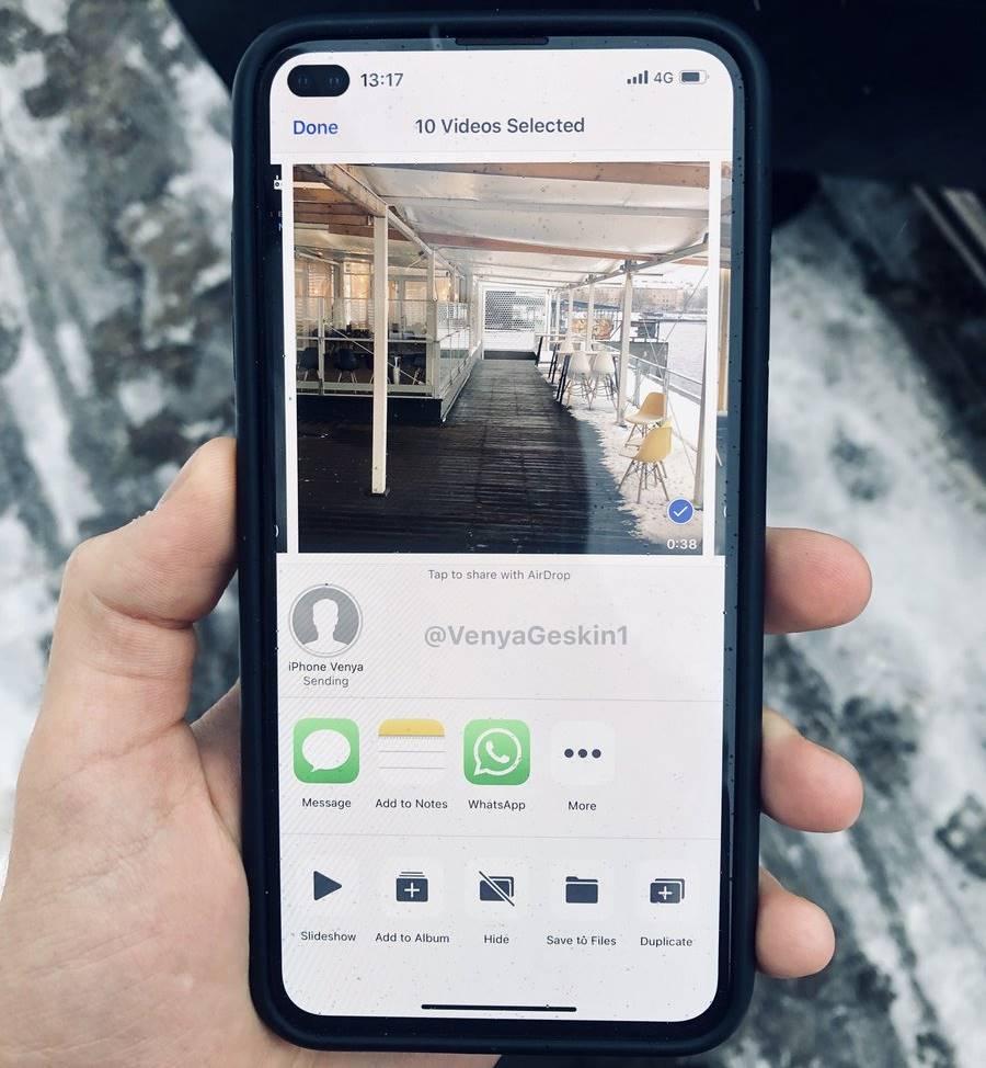 iPhone 11 decupaj galaxy s10