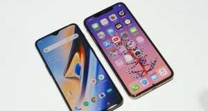 iPhone XS Max umileste oneplus 6t