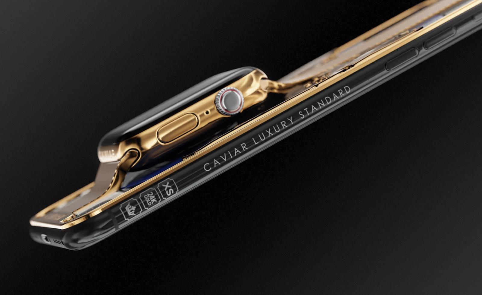 iPhone carcasa apple watch aur