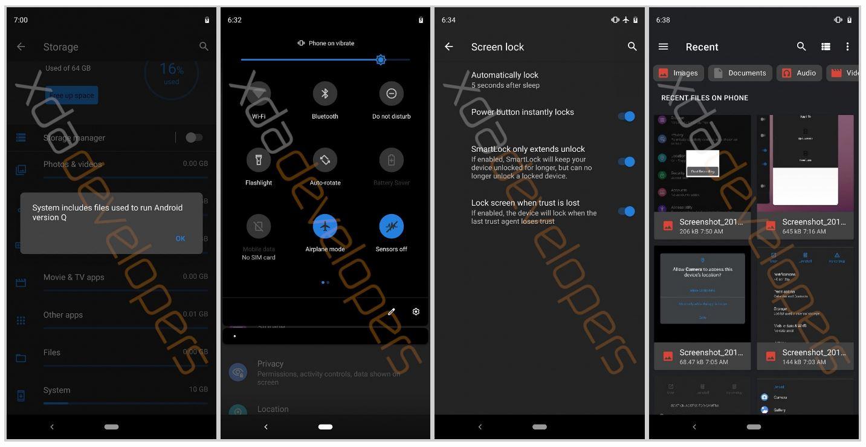 Android Q functii imagini exclusiv