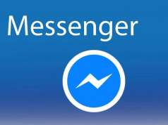 Facebook Messenger interfata