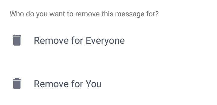 Facebook Messenger sterge mesaje unsend