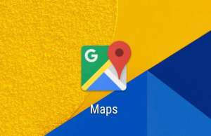 Google Maps radar