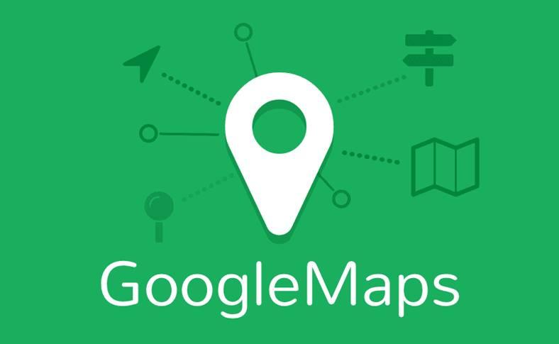 Google Maps transport