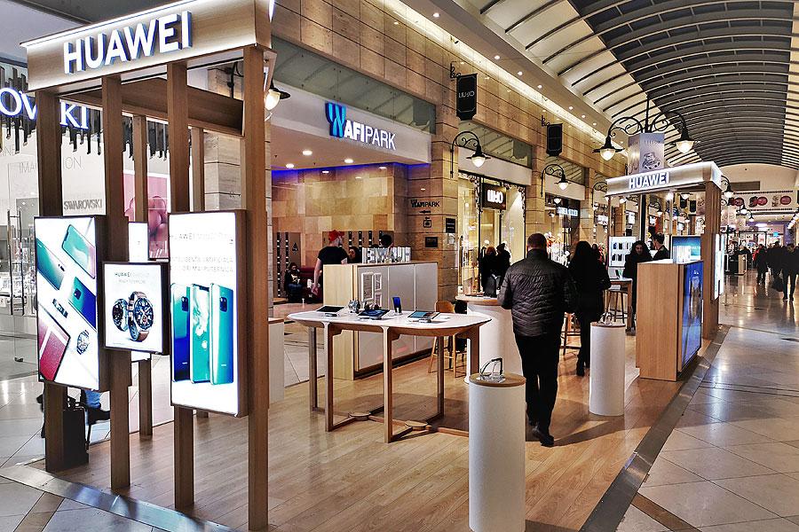 Huawei shop afi palace cotroceni