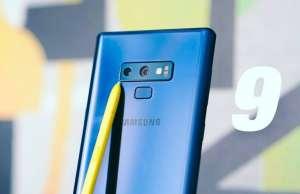 Samsung GALAXY Note 9 selfie