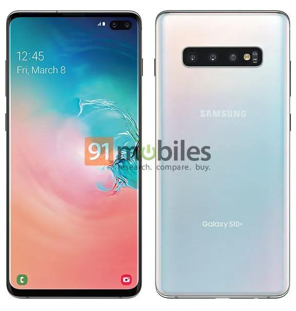 Samsung GALAXY S10 imagine presa