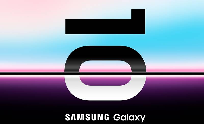 Samsung GALAXY S10 lansare