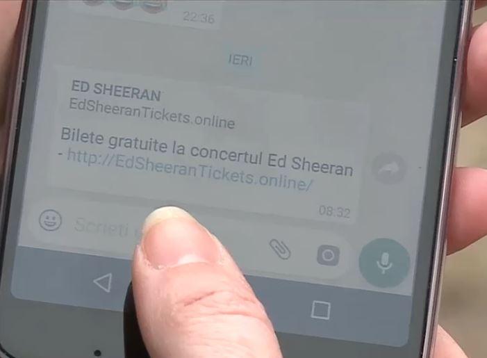 WhatsApp ed sheeran romania