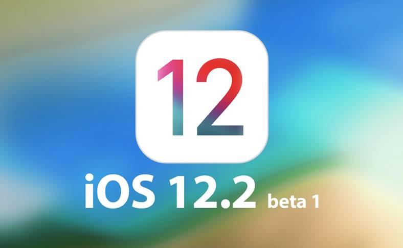 iOS 12.2 public beta 1