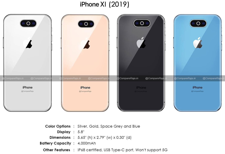 iPhone 11 camera baterie zvon