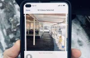 iPhone perforatie