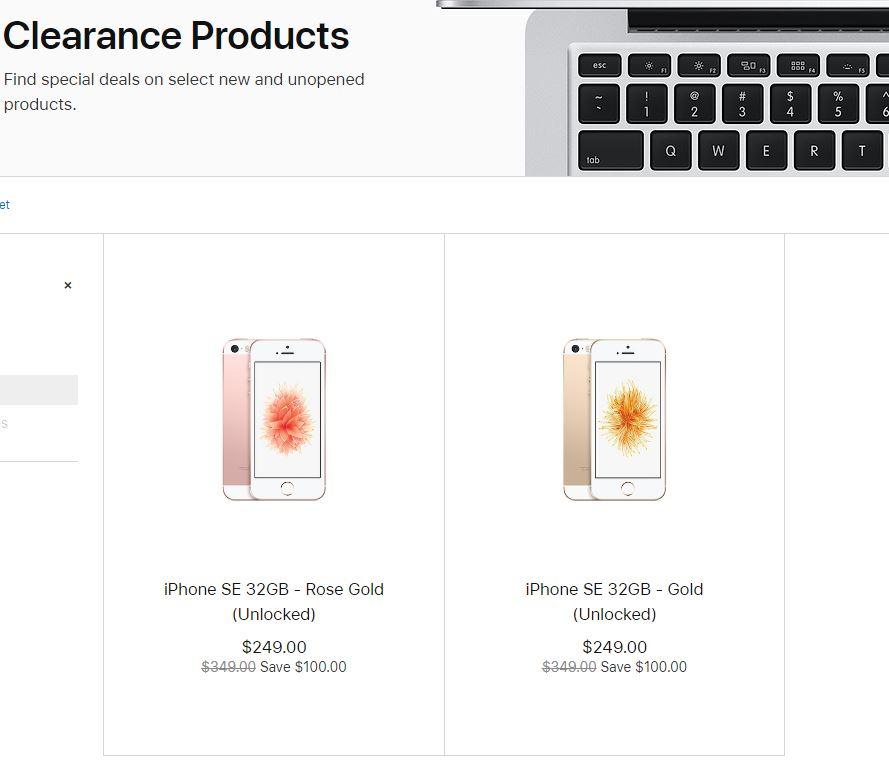 iphone se apple lichidare stoc
