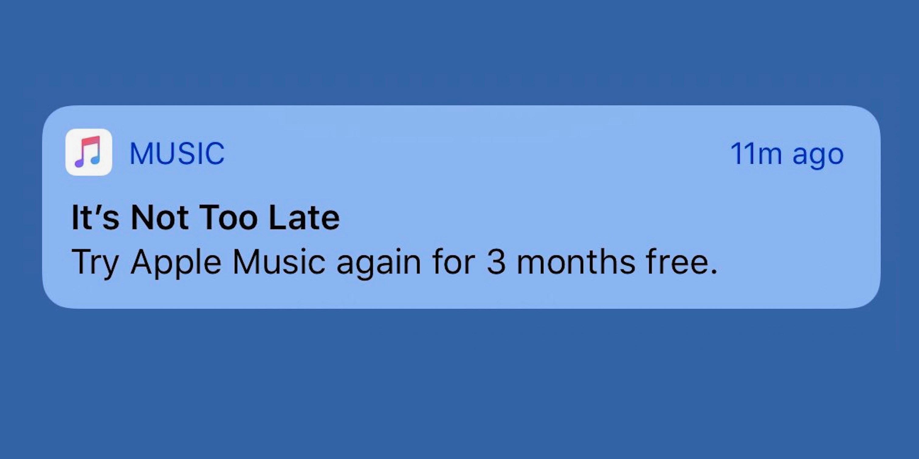 Apple Music gratuit apple