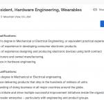 Google vicepresedinte smartwatch