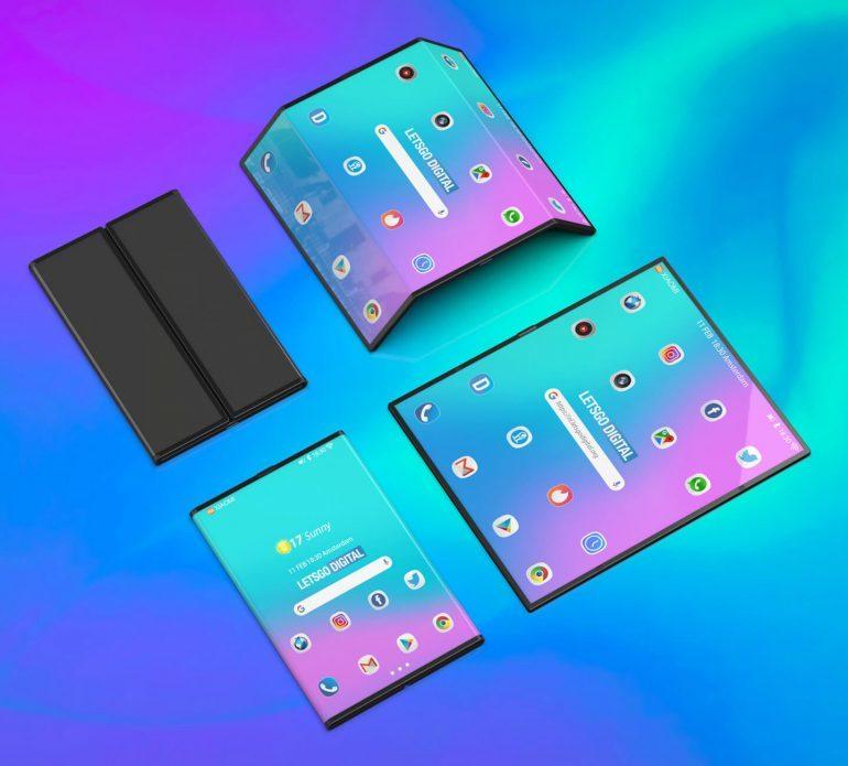 Huawei MATE FOLD imagini xiaomi telefon pliabil