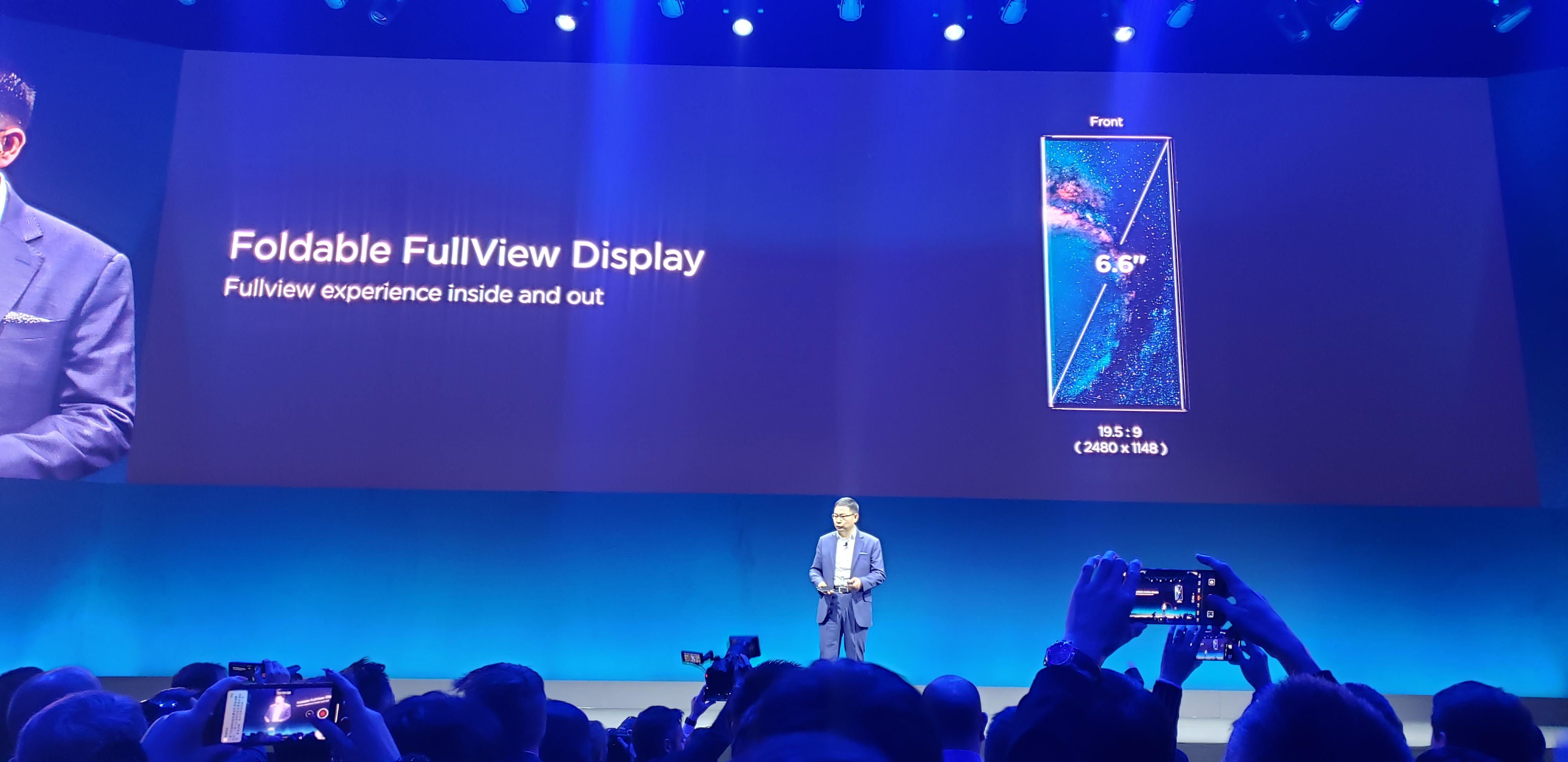 Huawei MATE X ecran rezolutie