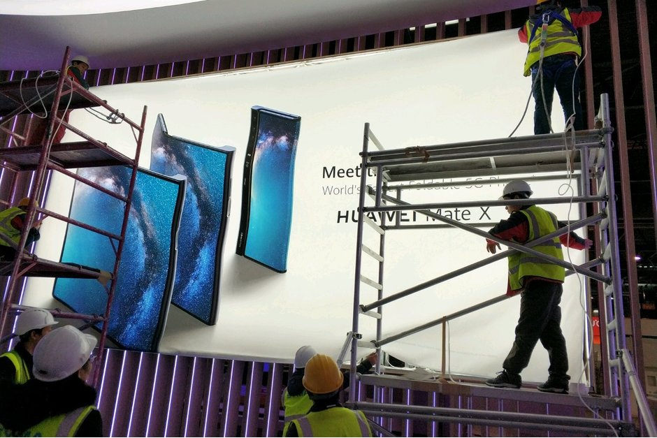 Huawei MATE X imagine