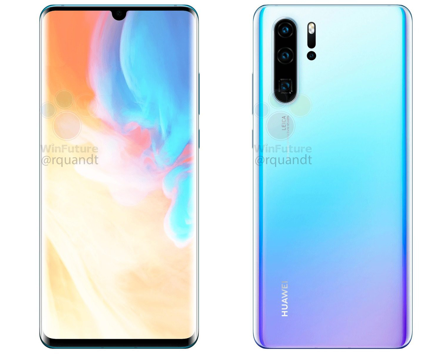 Huawei P30 Pro imagine camera tripla