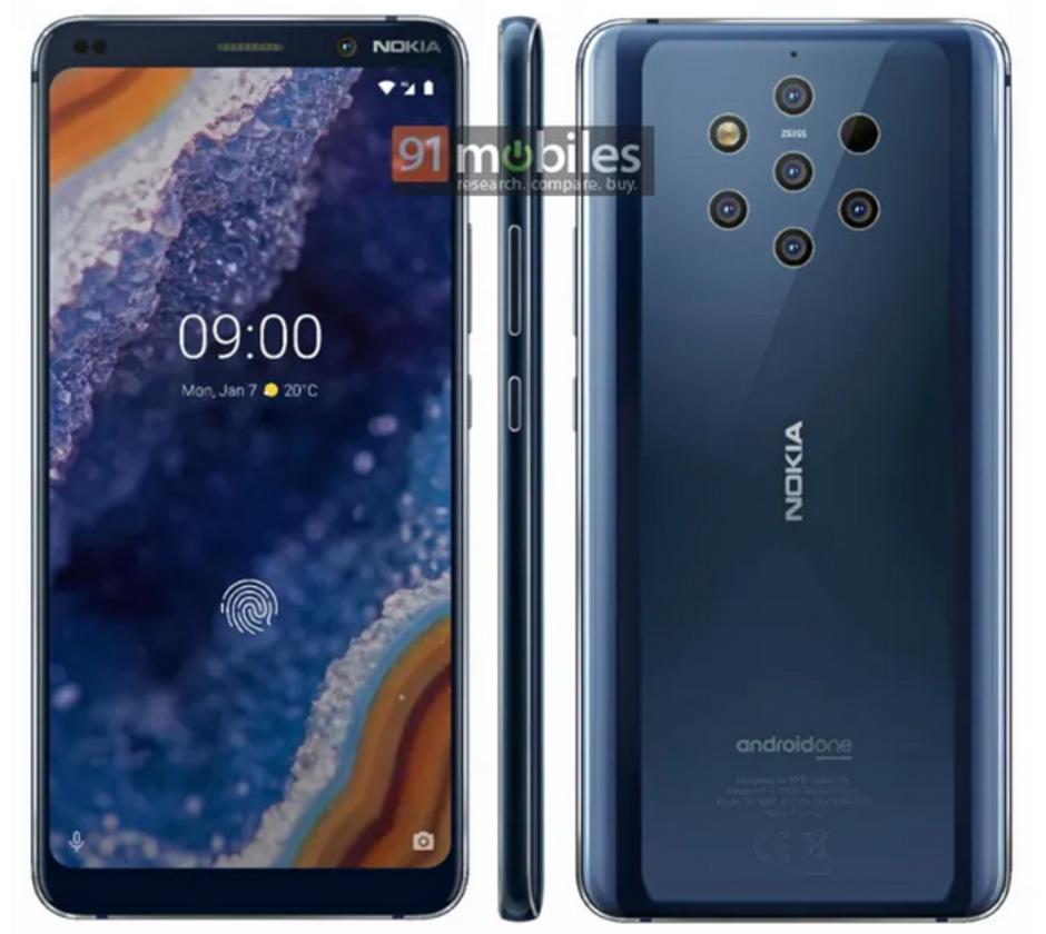Nokia 9 foto imagine de presa