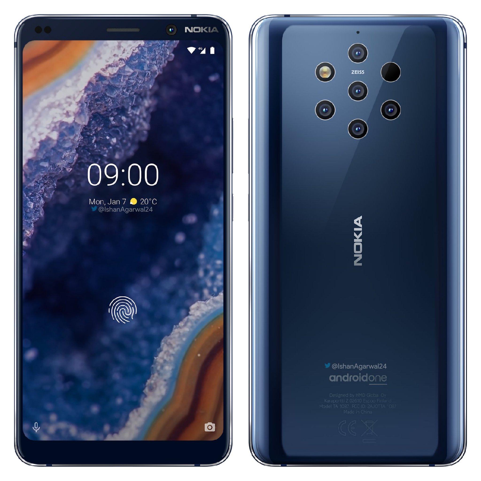 Nokia 9 imagini presa lansare