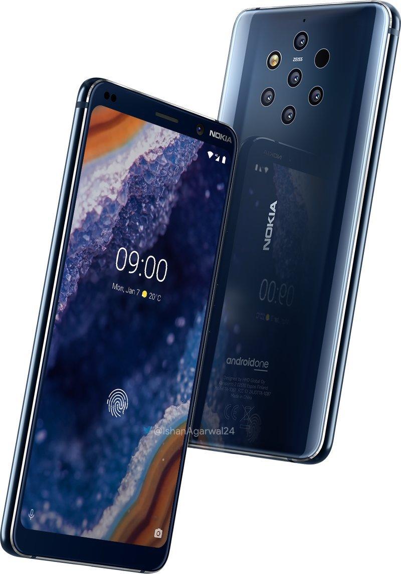 Nokia 9 imagini presa telefon