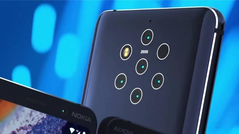 Nokia 9 imagini presa