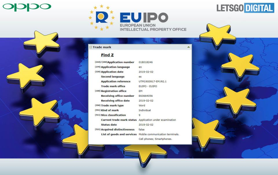 OPPO Find Z certificare nume