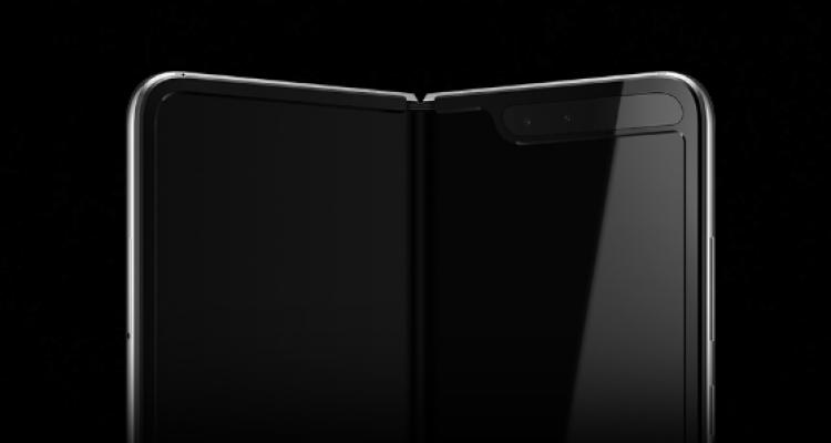 Samsung GALAXY FOLD ecran decupaj ciudat